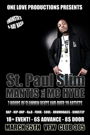 St. Paul Slim | Mantis Featuring MC Hyde